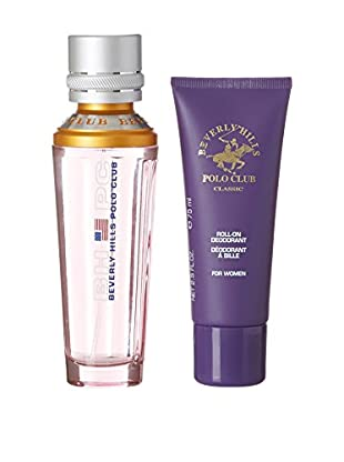 Beverly Hills Polo Club Eau de Toilette Damen 3 tlg. Set Sport