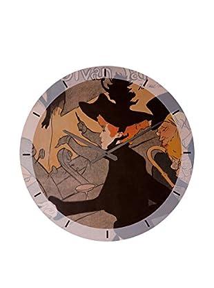 Artopweb Reloj De Pared Lautrec Le Divan Japonais