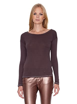 Mila Brant Camiseta Opale (Marrón)