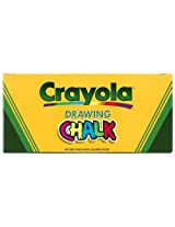 Crayola 144 Art Chalk Sticks Assorted Colors Lift Lid Box