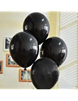 GrandShop 50258 Balloons Dual Color Black & Blue (Pack of 50)