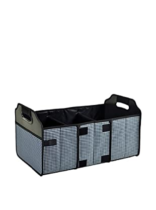 Picnic at Ascot Houndstooth Collapsible Trunk Organizer