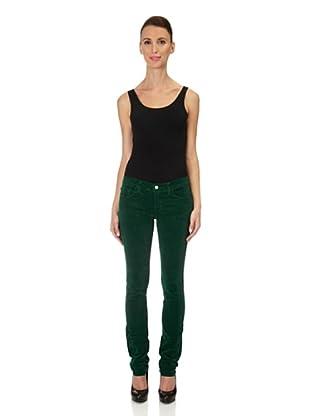 J Brand Cordhose Low Rise Skinny (peridotgreen)