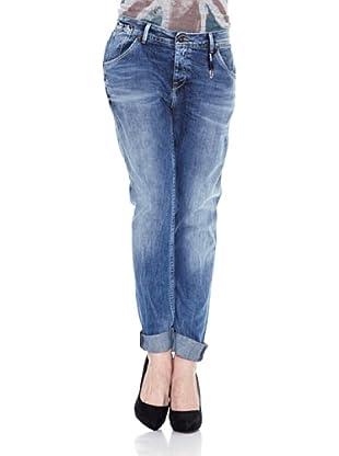 Pepe Jeans London Vaquero Liberal (Azul Denim)