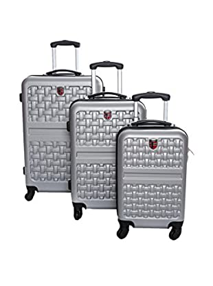 Geographical Norway Set de 3 trolleys rígidos Surfer