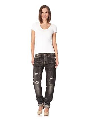 Lotus Jeans Eddie Carrot Josen Fjord (black/used look)