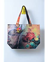 Kitschdii Coloured BuddhaTote Bag- HTT-014
