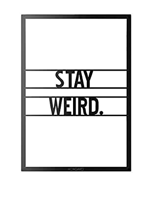 Best Seller Living Wanddeko Stay Weird
