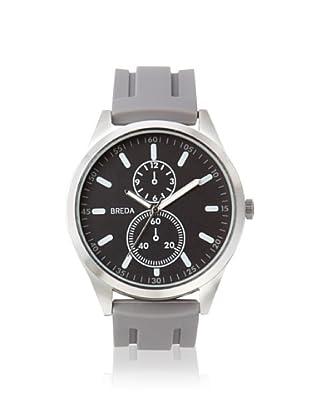 Breda Men's 8153 Connor Grey/Black Alloy Watch
