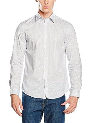 Ben Sherman Camicia Uomo Ls Overprinted Stripe