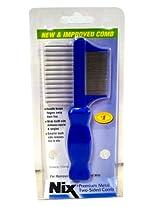 Nix Premium Metal Two-Sided Lice Comb-1 ct.