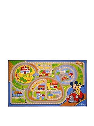 Abc Alfombra Juego Walt Disney Mickey Mouse Multicolor 100 x 170 cm