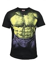 Hulk Black Half Sleeve Tee