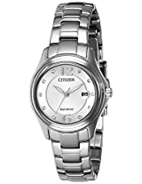 Citizen Analog Silver Dial Women's Watch - FE1130-55A