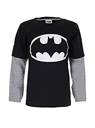 DC Comics Longsleeve Batman Logo (Glow In The Dark)