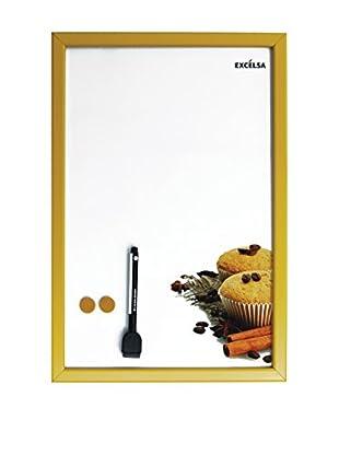 Molecuisine Selbstklebende Tafel Muffin weiß/gelb