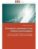 Emergents Spontanes D'Une Analyse Praxeologique