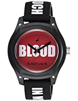 Fastrack Tees Analog Red Dial Children's Watch - 9951PP09
