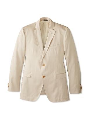 Salvatore Ferragamo Men's Notch Lapel Sport Jacket (Tan)