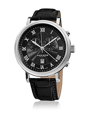 Akribos XXIV Reloj con movimiento cuarzo suizo Man AK591BK ZZ-