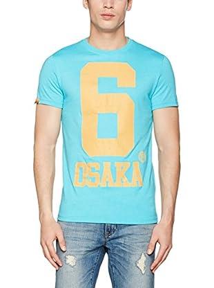 Superdry T-Shirt Manica Corta Osaka Sun Fade
