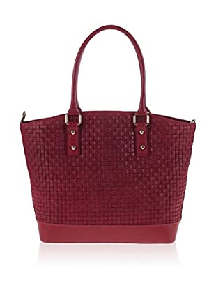 PITTI BAGS Schultertasche  rot