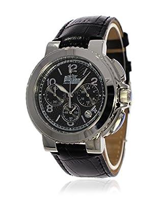 Pit Lane Uhr mit Miyota Uhrwerk Pl-5001-1 schwarz 36 mm