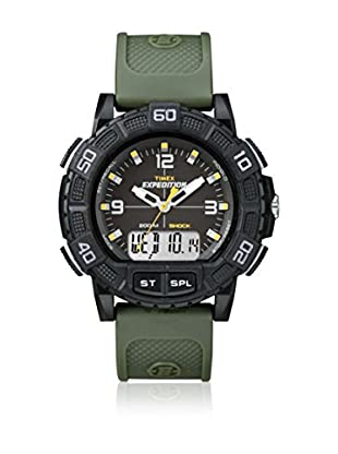 TIMEX Reloj de cuarzo Man Expedition Shock Verde 45 mm