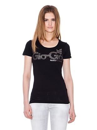 Gio Goi Camiseta Tease (negro)