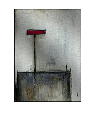 Gallery Direct T. Graham Cardinal I Artwork on Mounted Metal