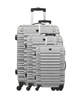 BLUESTAR Set de 3 trolleys rígidos Lima