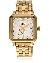 Ti000O70200 Golden/Silver Analog Watch