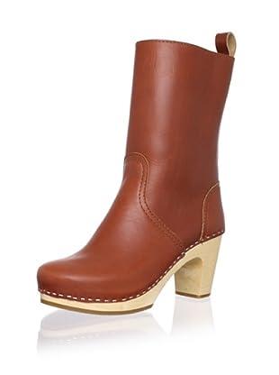 Swedish Hasbeens Women's Boot Classic (Cognac)
