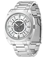 Police Analog Grey Dial Men's Watch - PL12698JS/04M