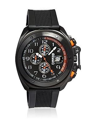 Breed Reloj con movimiento cuarzo japonés Brd4604 Negro 45  mm