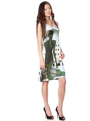 Custo Vestido Ru (Verde Agua)