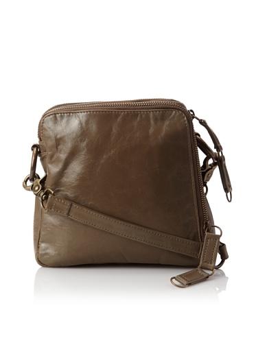 Latico Women's Beulah Triple-Compartment Convertible Shoulder Bag (Steel)