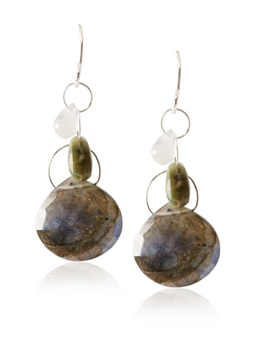 Melissa Joy Manning Multi-Stone Dangle Earrings