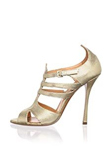 Edmundo Castillo Women's Rosangela Sandal (Gold)