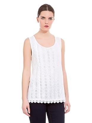 Cortefiel Camiseta Sangalo (Blanco)