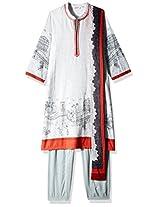 Biba Cotton Straight Salwar Suit Sets