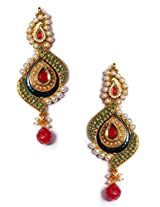 Exclusive Multicolor Kundan Traditional Earring - J0101054
