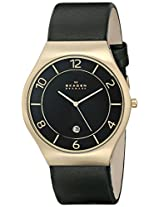 Skagen End-of-Season Grenen Analog Black Dial Men's Watch-SKW6145