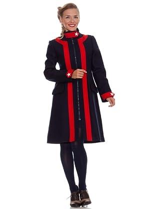 Divina Providencia Abrigo Contraste (Rojo/Azul)