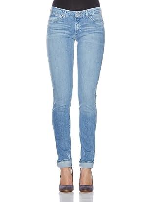 Wrangler Jeans Molly Aloe Vera (blau)