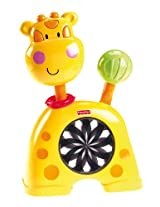 Fisher-Price Discover 'n Grow Push 'N See Kaleidoscope, Giraffe