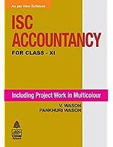 ISC Accountancy for Class XI