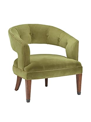 Artistic New Gregory Chair, Green/Brown