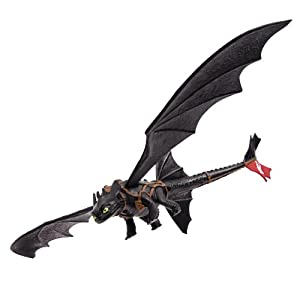 Dreamworks Dragons Toothless Night Fury Figure - Black