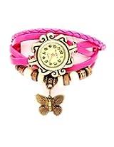Kokan Planet Vintage Butterfly Women's Watch-pink